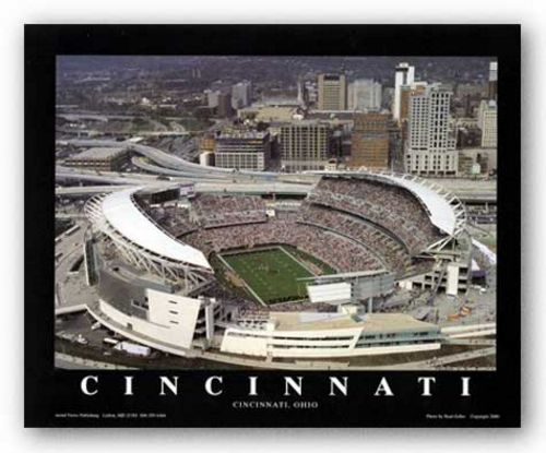 Cincinnati, Ohio - Paul Brown Stadium - Cincinnati Bengals by Brad Geller