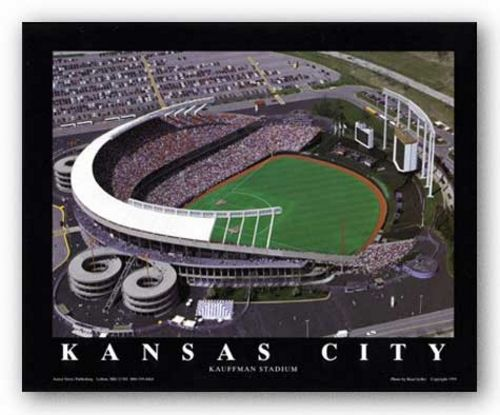 Kansas City, Missouri - Kauffman Stadium - Kansas City Royals by Brad Geller