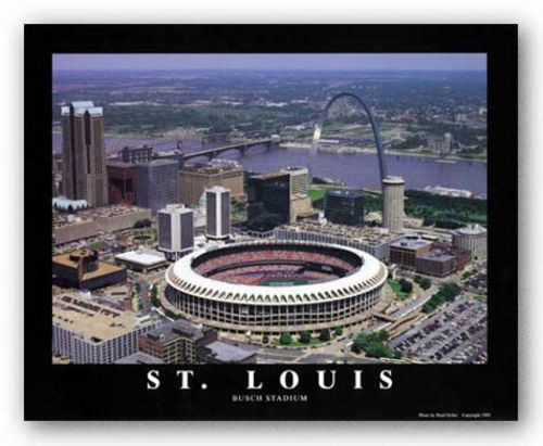 St. Louis, Missouri - Busch Stadium - St. Louis Cardinals by Brad Geller