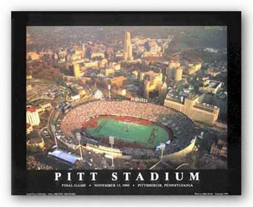 Pitt Stadium, Final Game - Pittsburgh, Pennsylvania by Mike Smith - Aerial Views