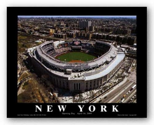 New Yankee Stadium: Opening Day, 2009 - Bronx, New York by Mike Smith - Aerial Views