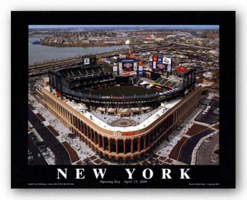 Citi Field: New York Mets Opening Day, 2009 - Flushing, New York by Mike Smith - Aerial Views