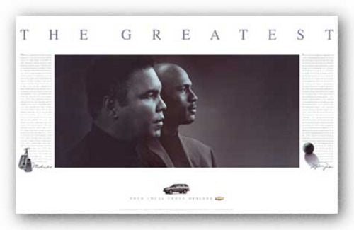 The Greatest: Muhammad Ali and Michael Jordan by Jim Secreto