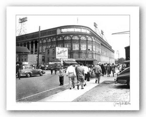 Ebbets Field, Brooklyn, New York, 1947 - Giclee by Merlis Collection