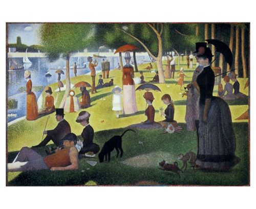 Sunday Afternoon on the Island of La Grand Jatte by Georges Seurat