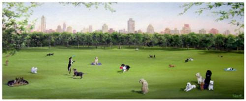 Sunday in the Park by Carol Saxe