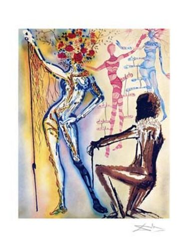 Ballet of Flowers - Limited Edition Giclee by Salvador Dali