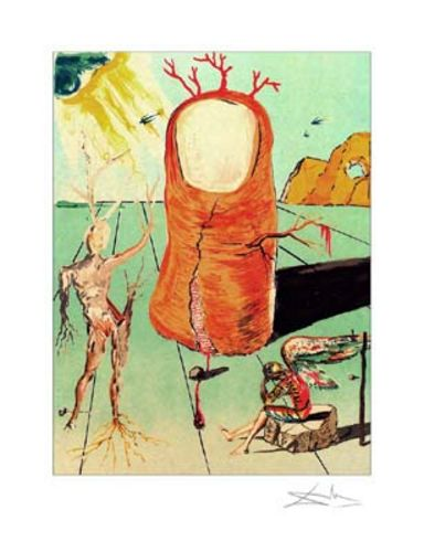The Thumb - Limited Edition Giclee by Salvador Dali
