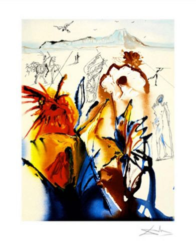 Diamond Head - Limited Edition Giclee by Salvador Dali