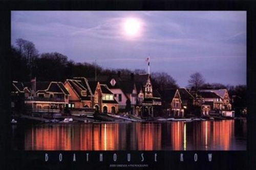 Boathouse Row by Jerry Driendl