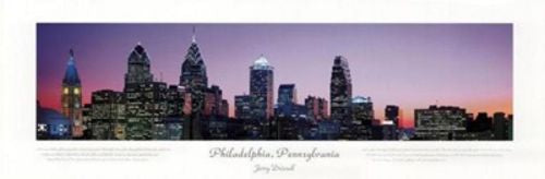 Philadelphia, Pennsylvania, City View by Jerry Driendl