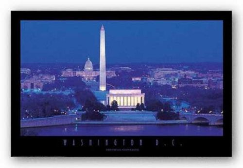 Washington D.C. - Capitol and Monuments by Jerry Driendl