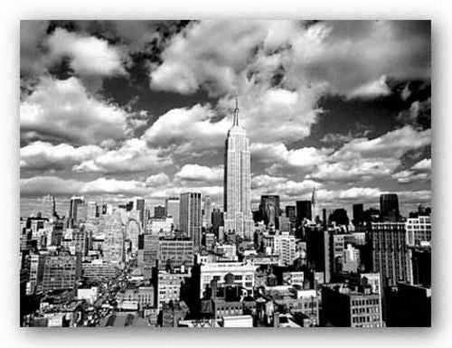 Sky Over Manhattan by Henri Silberman