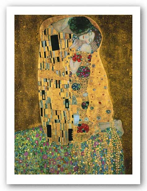 Der Kuss (The Kiss) by Gustav Klimt