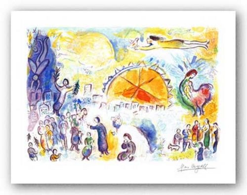 Four Seasons by Marc Chagall
