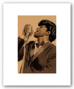 James Brown - Pencil Signed Artist's Proof Giclee by Clifford Faust
