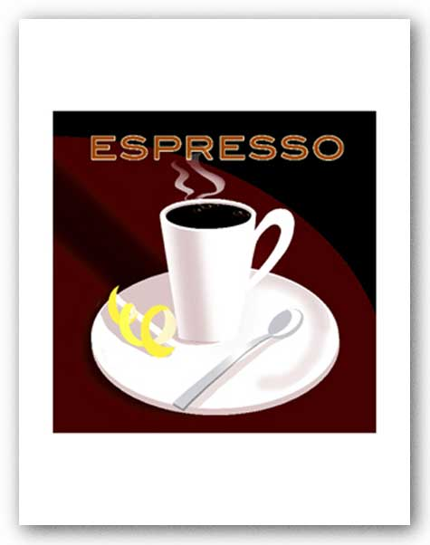Espresso - Signed Giclee by Clifford Faust