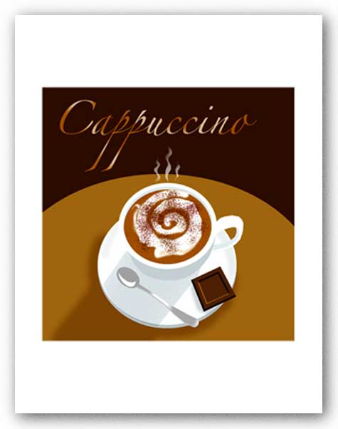 Cappuccino - Signed Giclee by Clifford Faust
