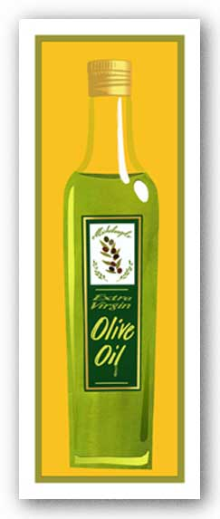 Extra Virgin Olive Oil - Giclee by Clifford Faust