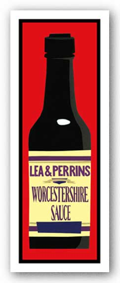 Worcestershire Sauce - Giclee by Clifford Faust