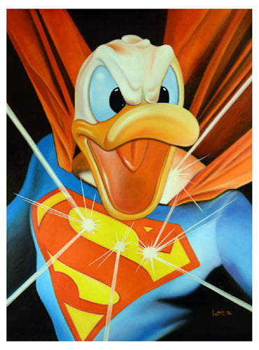 Super Duck / Duck of Steel by Michael Loeb