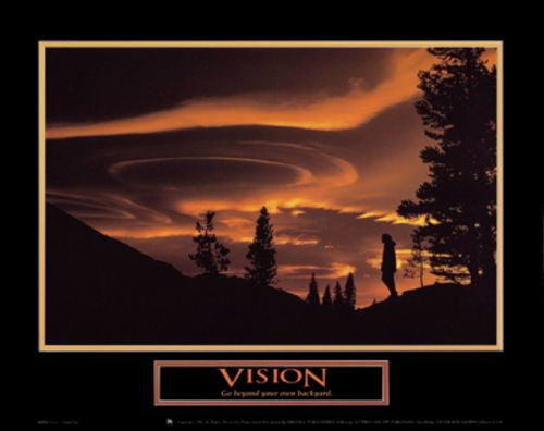 Vision - Gold Sky by Motivational