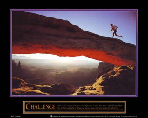 Challenge - Runner by Motivational