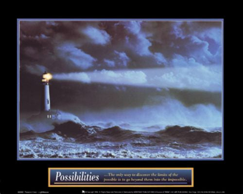 Possibilities - Lighthouse by Motivational