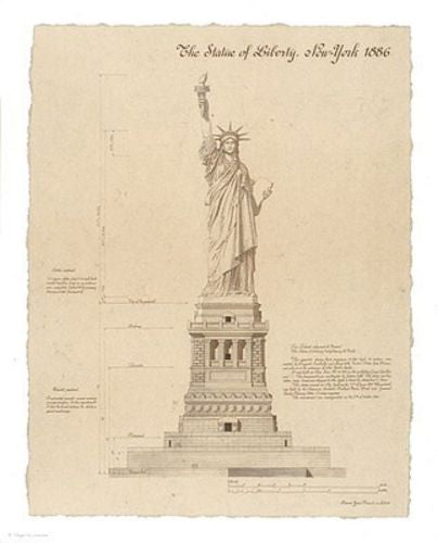 Statue of Liberty, New York by Yves Poinsot
