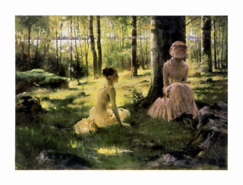 Under the Birches by Albert Edelfelt