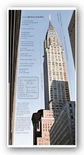 Chrysler Building Architecture by Phil Maier