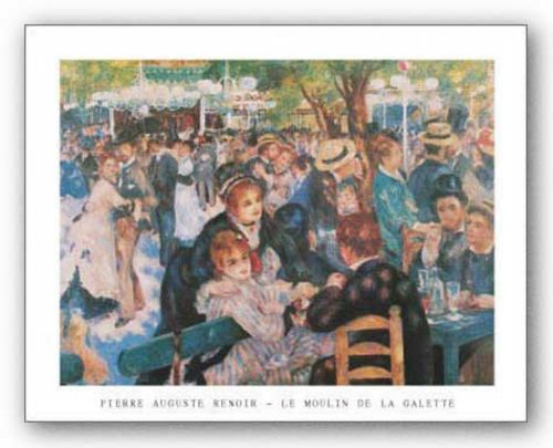 Moulin de la Gallette by Pierre-Auguste Renoir