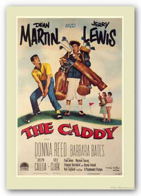 The Caddy Movie Poster - Dean Martin and Jerry Lewis