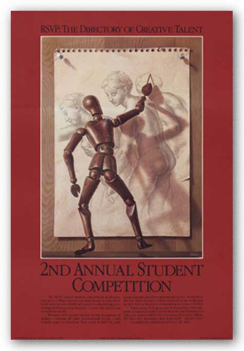 RSVP Student Competition 2, 1983 by Birney Lettick