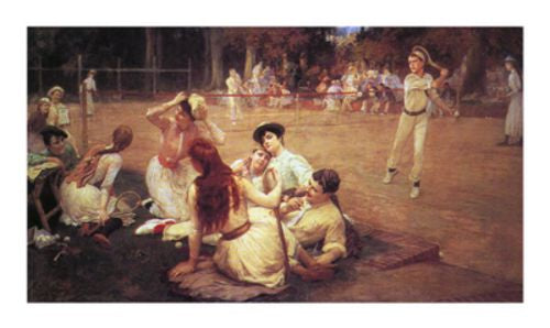 Lawn Tennis Club by Frederick Arthur Bridgman