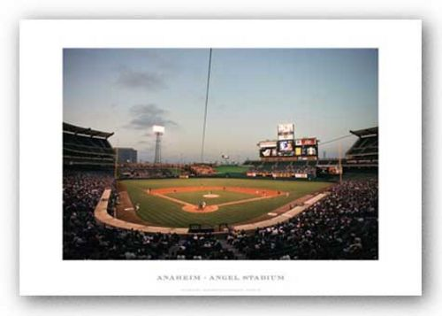 Angels Stadium of Anaheim by Ira Rosen