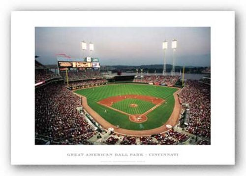 Great American Ballpark, Cincinnati Reds by Ira Rosen
