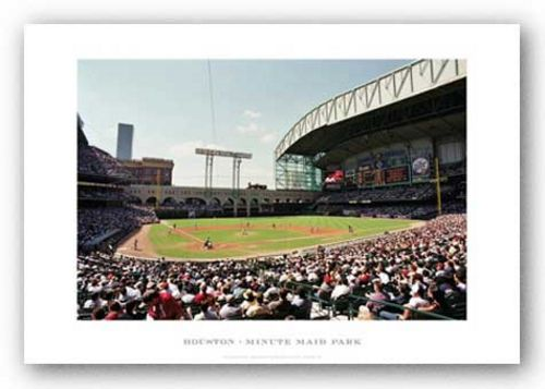Minute Maid Park, Houston Astros by Ira Rosen