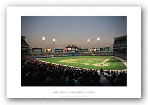 Comiskey Park, Chicago White Sox by Ira Rosen