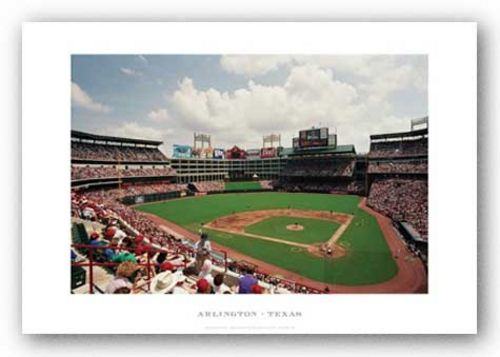 Rangers Ballpark in Arlington, Texas Rangers by Ira Rosen