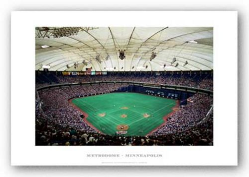Metrodome, Minneapolis, Minnesota Twins by Ira Rosen
