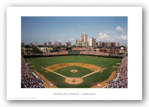 Wrigley Field, Chicago Cubs by Ira Rosen