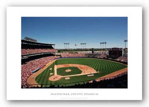 Milwaukee County Stadium, Milwaukee Brewers by Ira Rosen