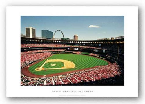 Busch Stadium, St. Louis Cardinals by Ira Rosen
