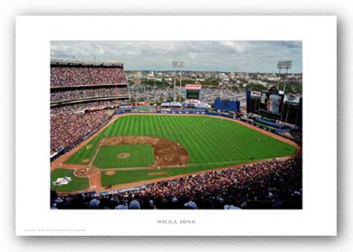Shea Stadium, 1986, New York Mets by Ira Rosen