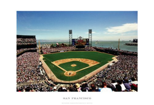 AT&T Park - San Francisco Giants MLB by Ira Rosen