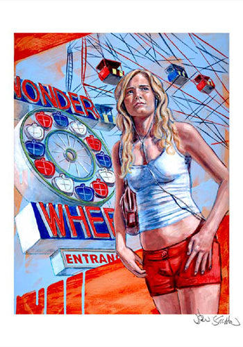 Wonder Wheel  by Jason Stillman
