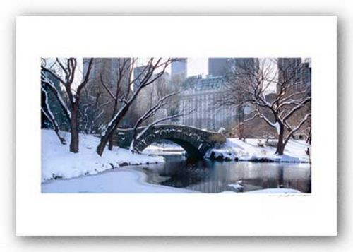 Central Park, Winter - Signed by Viktor Balkind