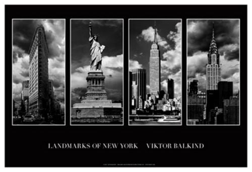 Landmarks of New York I by Viktor Balkind
