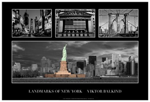 Landmarks of New York II by Viktor Balkind